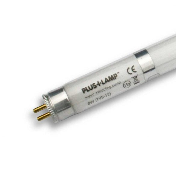 PlusLamp TVX8-12S, 8Watt szilánkbiztos UV fénycső